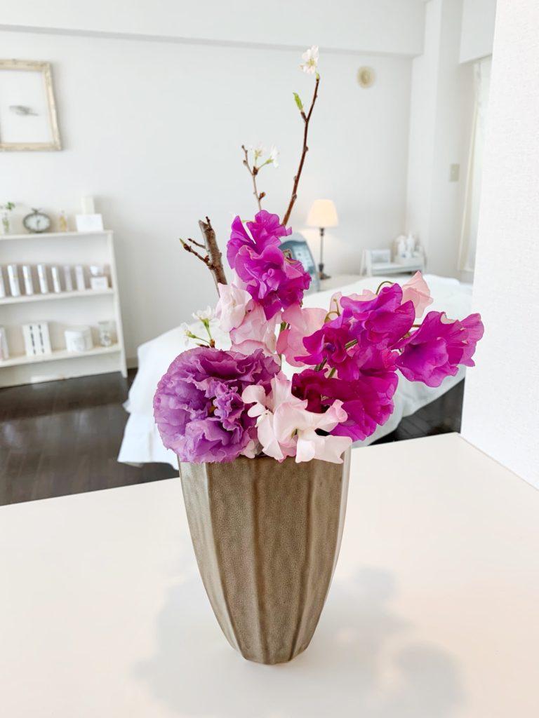 サロンニコお花